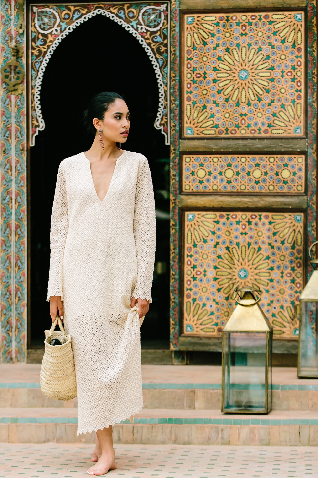 Kaftan, Caftan, Caftan dress, Moroccan door