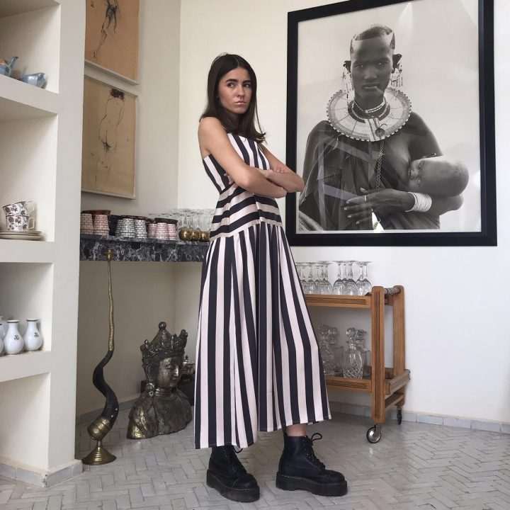 Julia's Black and White Stripes